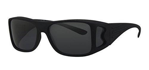 REVEX Polarisierte Überbrille Sonnenbrille für Brillenträger CAT 3 schwarz