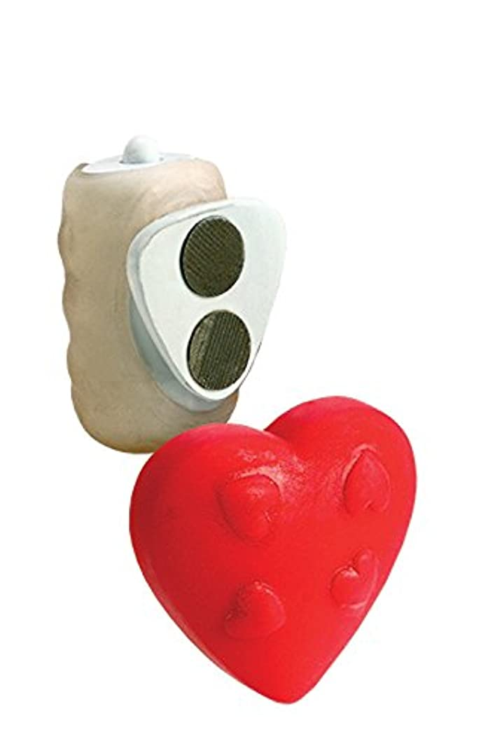 California Exotic Novelties Vibrating Panty Pal, Red Heart