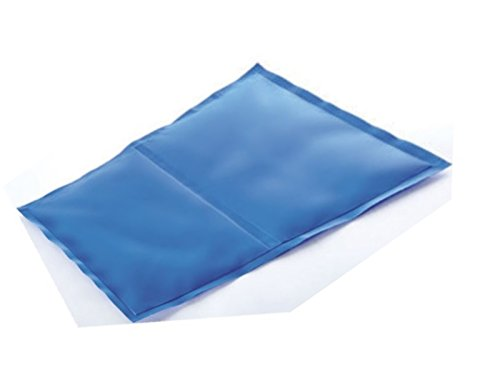 COOLING GEL PILLOW SLEEP BED GEL PAD THERAPY AID HOT FLUSH WARM NIGHTS COOL NEW