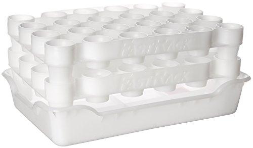 FastRack Flaschentrockner und Ablage-Set (FastRack24 zwei Racks und ein Tablett)