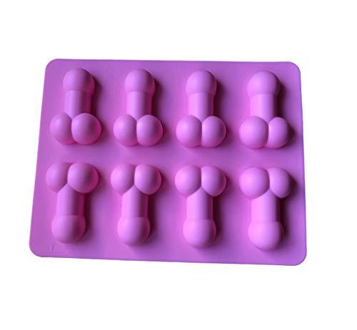 ROYAL HOUSEWARE Moule en silicone pour petits pénis, pralines - 14 cm x 18,5 cm