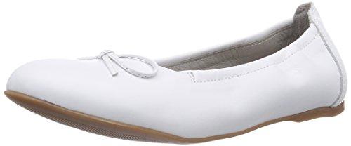 Superfit CLAIRE 400194, Mädchen Geschlossene Ballerinas, Weiß (WEISS 50), 33 EU