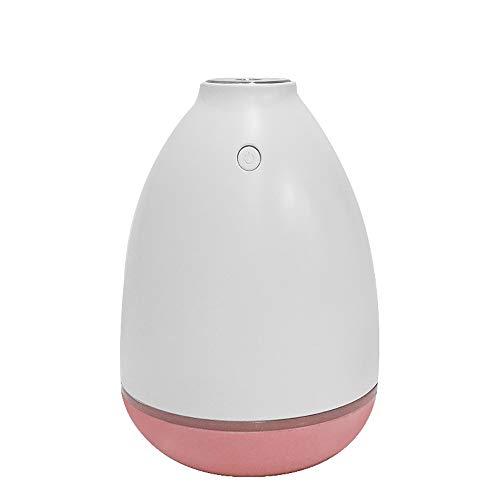 Humidificateur grande capacité 200ML Purificateur d'air Humidificateur USB Humidificateur d'air par ultrasone pour femmes enceintes pour bébébébébé, humidificateur pour bouteille roze