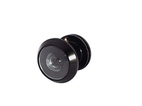 "Door Viewer for Narrow Panel Doors - Peephole (Black - Oil Rubbed Bronze) 5/8"", 3/4"", 7/8"" Panel Thickness"