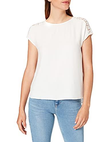 Springfield Blusa Lace Hombros Camisa para Mujer