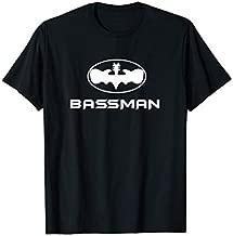 BASSMAN Guitarist T-Shirt Bass Guitar Rock T-Shirt T-Shirt