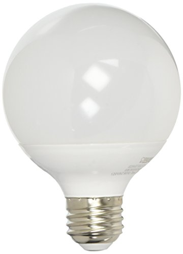 FEIT Electric G2540/10KLED/3 Non-Dimmable Led Bulb, 40 W, 120 Vac, 350 Lumens, 3000 K, CRI >80, 3.15 in Dia, Warm White, 3 Piece