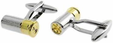 Shotgun Shell Cufflinks Ammo Bullet Cuff Links