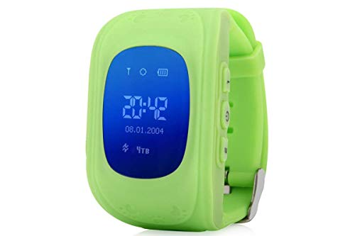 MJDCNC Q50 Kids Smart Watch with Anti Lost GPS Tracker, Baby Watch, Kids SOS Calling Smart Watch Compatible with All Android/iOS Mobiles