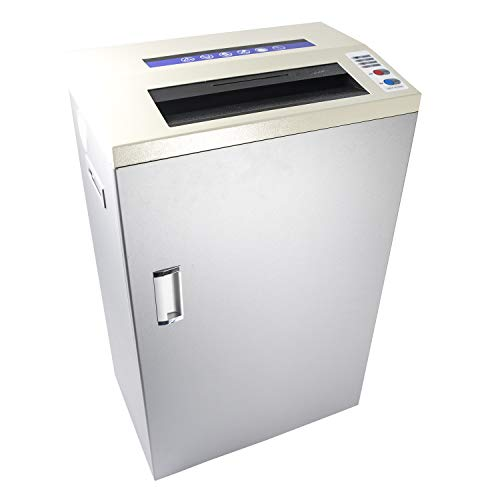 %13 OFF! Heavy Duty Paper Shredder - Cutting Capacity 20 Sheets A4-80L Bin