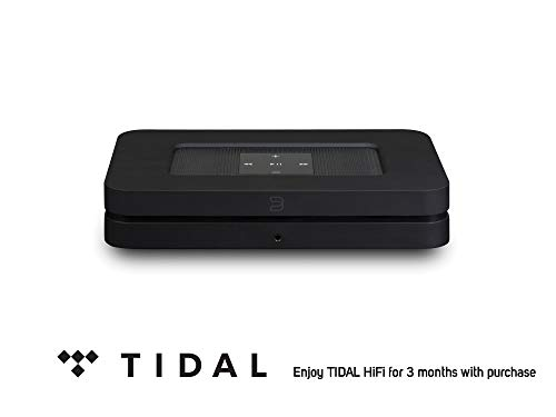 Bluesound Node 2i Wireless Multi Room Hi Res Music Streaming Player Black Tidal HiFi for 0 for 3 Months