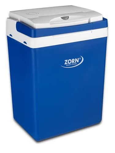 Zorn® Z32 I Elektrische Kühlbox I Kapazität 30 L I 12/230 V für Auto, Boot, LKW, Balkon und Steckdose