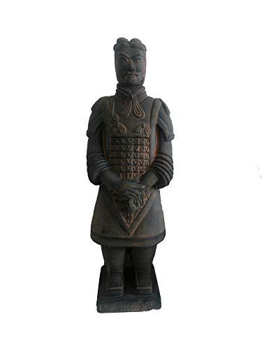 Réplica de terracota, Guerreros de terracota antiguos chinos y soldados decorativos Adornos Características chinas Regalos 26Cm Alto