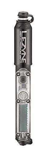 Lezyne Uni Minipumpe CNC Digital Pressure Drive, Schwarz-glänzend 120psi, 17,0cm Luftpumpe, Einheitsgröße
