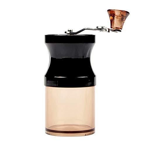 Xinhengchen Portatile e professionale per presse francesi, Chemex, Espresso Macinacaffè ceramici conici regolabili Macinacaffè manuale Black 12.5 * 6cm