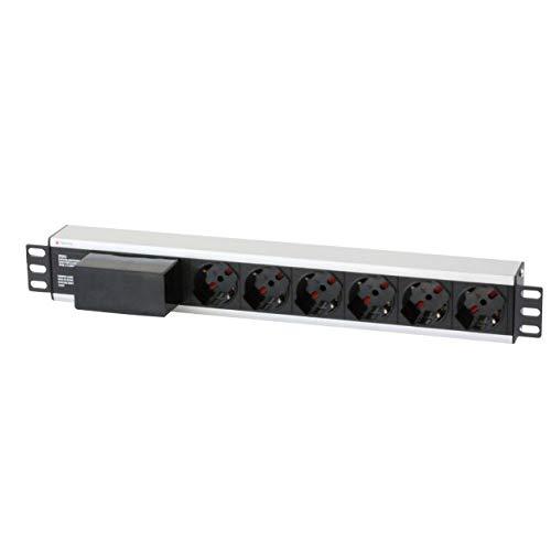Techly I-Case STRIP-16A3 Accesorio de Bastidor Regleta eléctrica - Accesorio de Rack...