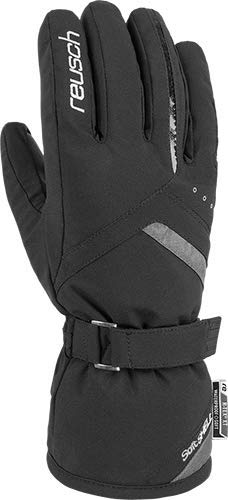 Reusch Damen Hannah R-TEX XT Handschuh, Black/Grey Melange, 6.5