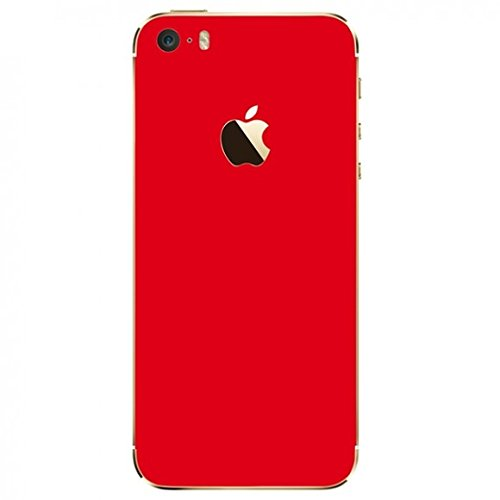 Skin Premium - Adesivo Jateado Fosco Iphone 5/5S/SE (Vermelho)