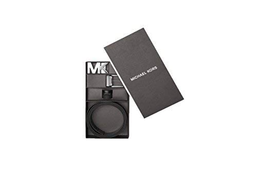 Michael Kors Mens Four in One Logo Belt Box Set Black