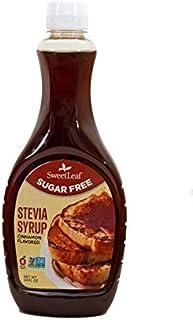 SweetLeaf Stevia Syrup, Cinnamon, 24 Oz
