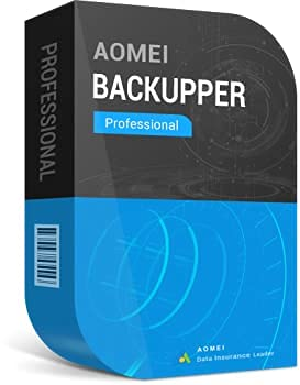 Backupper & Data Recovery Pro. Software - AOMEI/1 code 2 PCs / DIGITAL DELIVERY