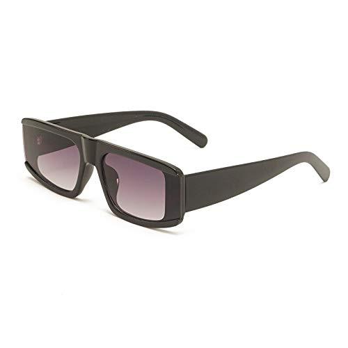 Gafas de Sol Gafas De Sol Pequeñas Vintage para Mujeres Y Hombres, Gafas De Sol Rectangulares Retro, Gafas De Sol con Diseño Plano De Lujo para Mujer Y Hombre, Gafas Uv400, Gafas C2