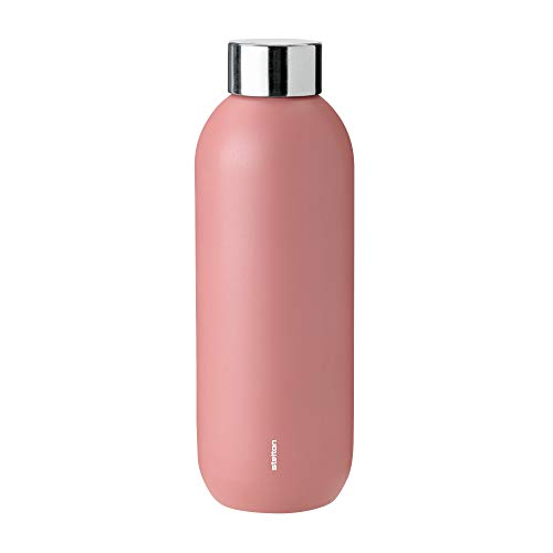 Stelton Keep Cool drinkfles, 0,6 l. - Rose/staal.