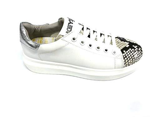 Keys Sneaker Scarpa Donna K-402 Ecopelle Soletta Pelle (Numeric_35)