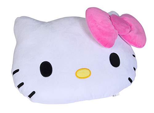 Simba Soft Plüschkissen / 35cm / Hello Kitty Kopfform mit Schleife Toys Cojín de Peluche 35 x 25cm, Color 1. (109281015)