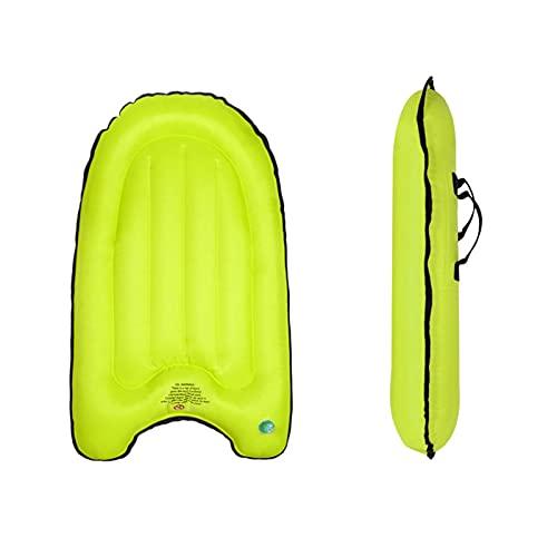 Bodyboard gonfiabile con manici, tavola galleggiante gonfiabile, per bambini e adulti