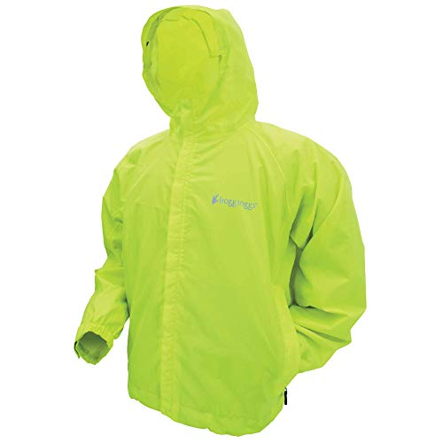 FROGG TOGGS Men's Stormwatch Waterproof Rain Jacket Hi-vis Yellow, X-Large