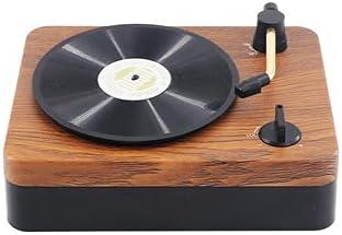 Retro Bluetooth Speaker New Mini Portable Record Super popular specialty store Creative Lowest price challenge Vinyl