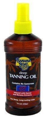 Banana Boat 235 ml Deep Tanning Oil Spray SPF 0