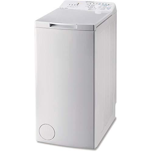 Lavatrice carica dall'alto Indesit profondità 60 cm - BTW A51052 (IT) Libera installazione 5kg 1000Giri/min A++ Bianco lavatrice, Senza installazione