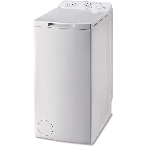 Indesit BTW A51052 (IT) Libera installazione Caricamento dall'alto 5kg 1000Giri/min A++ Bianco lavatrice, Senza installazione