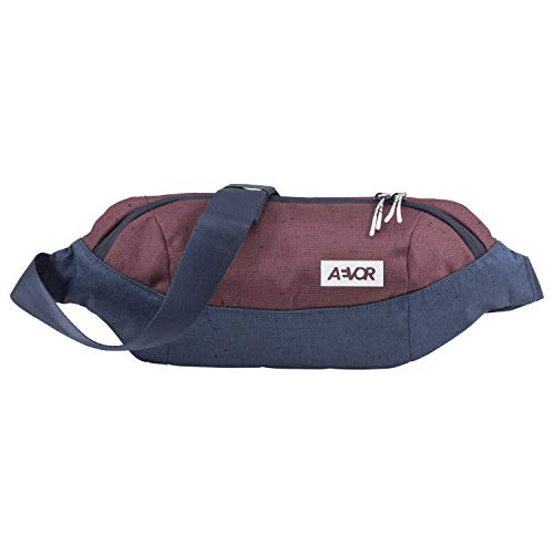 AEVOR Shoulder Bag - wasserabweisend, 3 Liter Volumen, Mesh-Innentasche, 2 Wege Zipper, größenverstellbarer Gurt mit Schnalle