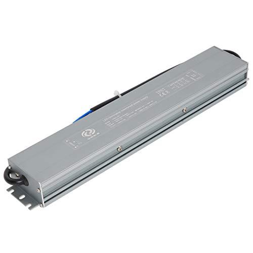 VARICART IP67 24V 4.17A 100W Controlador LED Regulable Impermeable,Fuente de Alimentación Conmutada CA CC, Transformador de Salida Voltaje Constante,Apoyo TRIAC 2 en 1 y control de Atenuación de 0-10V