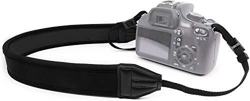 MyGadget Correa para Camara Reflex - Colgador para Cámaras - Camera Strap Compatible con TodosDSLR y Mirrorless comoNikon CanonOlympusSonyPanasonic