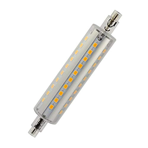 Beghelli LED-lamp 56114 10w 2700kelvin 1200 lumen (lange lengte 118 mm!) - De R7s LED-lamp vervangt traditionele allogeen!
