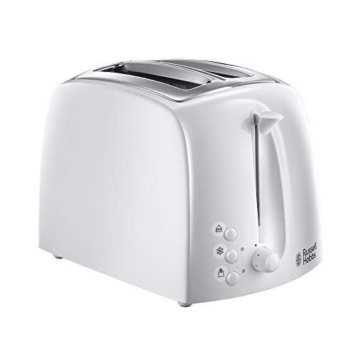 Russell Hobbs 21640 Textures 2-Slice Toaster, White