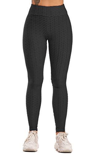 INSTINNCT Leggings de Sport Sexy Femme Anti Cellulite Butt Lifter Taille Haute Push Up Pantalon Amincissant Pour Gym Jogging Yoga Fitness