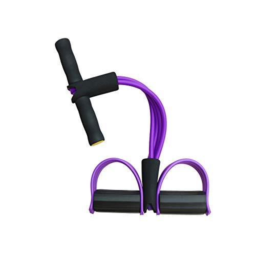 TONG Rally Mujer Abdominales Pedal Auxiliar aparatos de Ejercicios El Ejercicio del Tirador Que Adelgaza la Cintura y el Abdomen Músculos Aptitud física (Color : Purple)