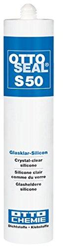 OTTOSEAL Silikon S-50 310ML C30 GLASKLAR - 7050430