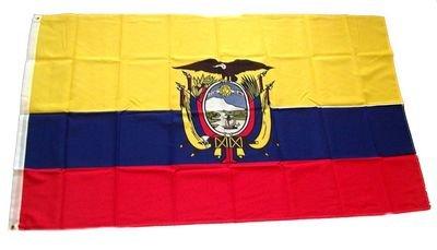 Fahne / Flagge Ekuador / Ecuador NEU 60 x 90 cm Fahnen