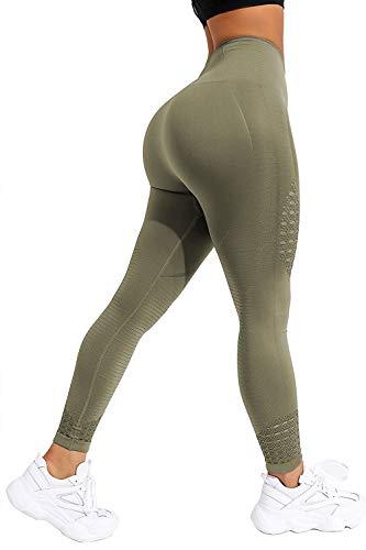 CROSS1946 Women's Seamless Yoga Leg…
