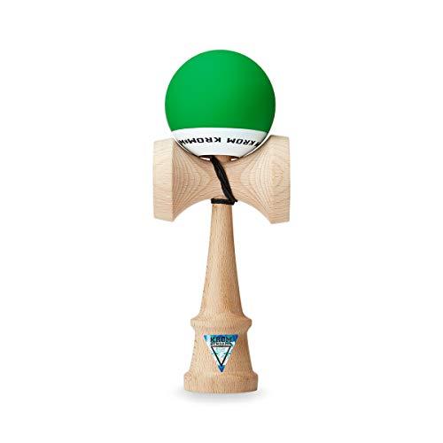Juguete KROM Kendama – POP dark Green – Resistente y Duradero – Mejora tus Habilidades Cognitivas – Mejora el Balance, los Reflejos y la Creatividad