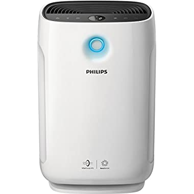 Philips Air Purifier 2000i, Connected and App Enabled, True HEPA, Reduces Allergens, Pollen, Dust Mites, Mold, Pet Dander, Gases and Odors, for Large Rooms