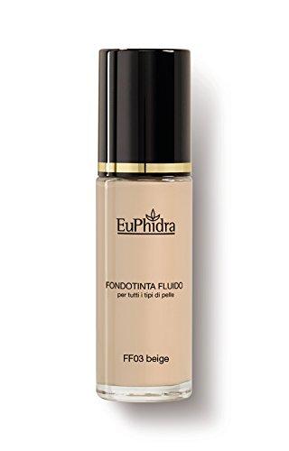 FF03 BEIGE FONDOTINTA FLUIDO spf25 Copertura effetto mat naturale Per tutti i tipi di pelle 30ML