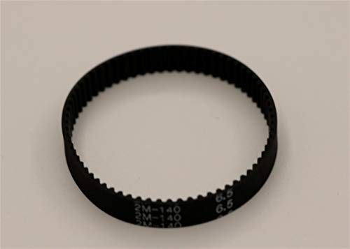 Lruirui-Belt timing 2PCS GT2 / 2M Cintura di temporizzazione, 140-2GT-6.5in, loop chiuso GT2 140, lunghezza = 140mm, denti = 70, larghezza = 6,5 mm per stampante 3D Cinghia di distribuzione Premium