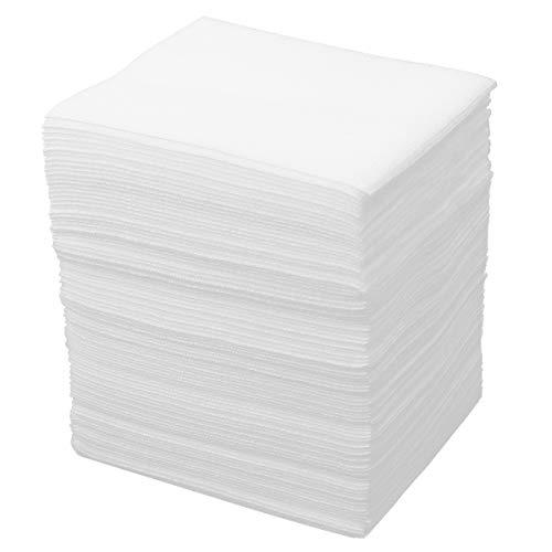 Balacoo 100 pz non tessuto foglio di spugna di garza tampone per la cura delle ferite forniture di pronto soccorso trucco detergente 20 × 20 cm